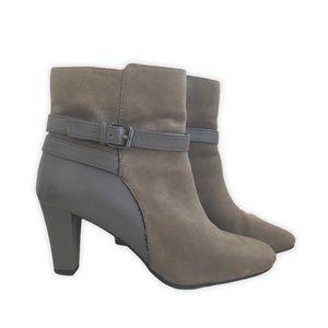Bandolino Valarie Suede Heeled Boot